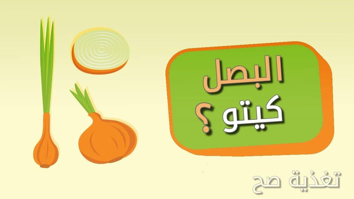 هل البصل مسموح في الكيتو دايت ماذا عن البصل الأخضر والأصفر والأحمر ومسحوق البصل البودرة